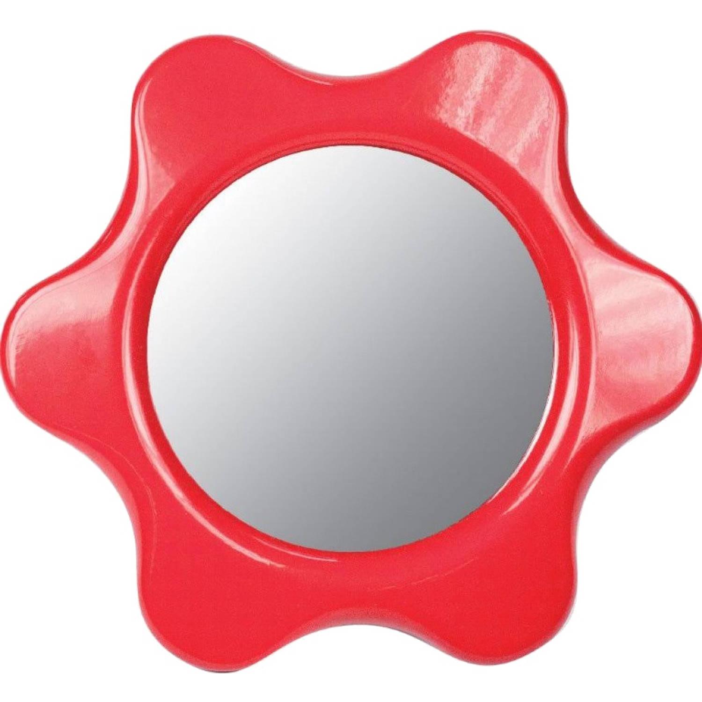 Afbeelding van Ambi Toys babyspiegel 16 cm rood