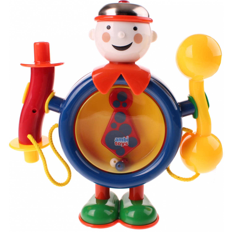 Afbeelding van Ambi Toys One Man Band 21 cm blauw