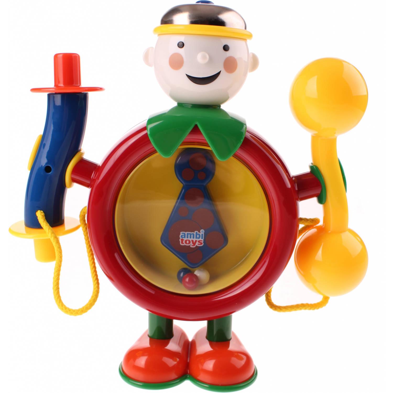 Afbeelding van Ambi Toys One Man Band 21 cm rood