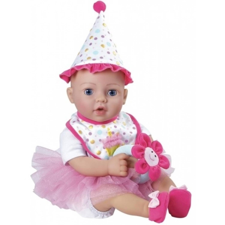 Afbeelding van Adora birthday baby 40 cm roze/wit 11-delig