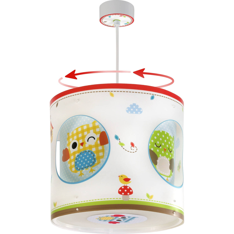 Dalber hanglamp draaiend Owls 26 cm