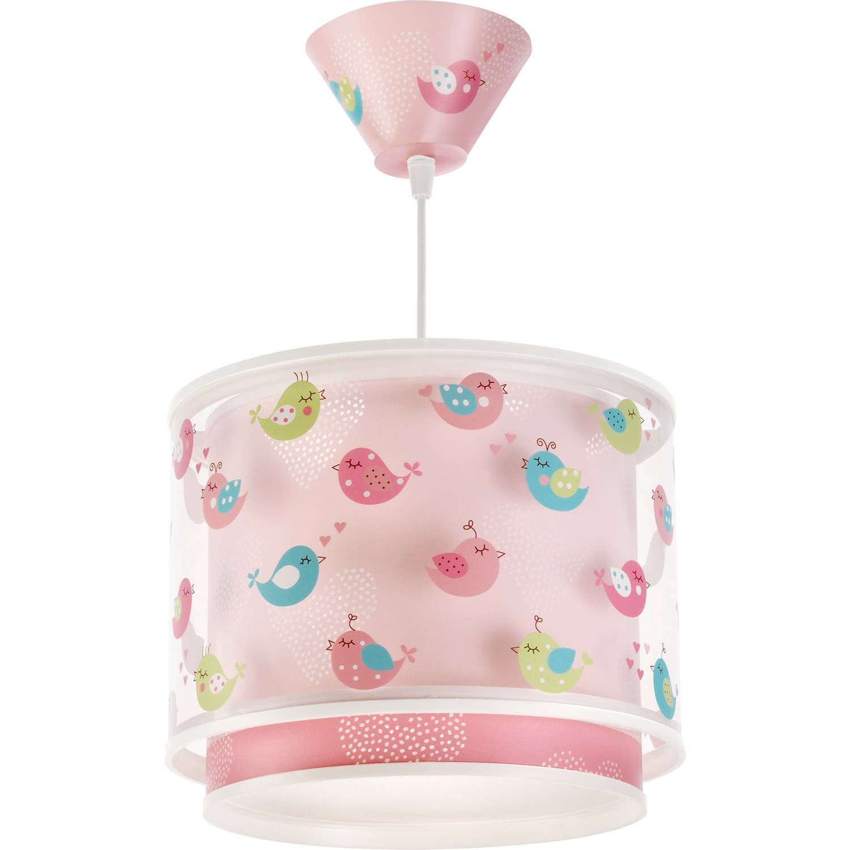 Dalber hanglamp Birds 26,5 cm roze
