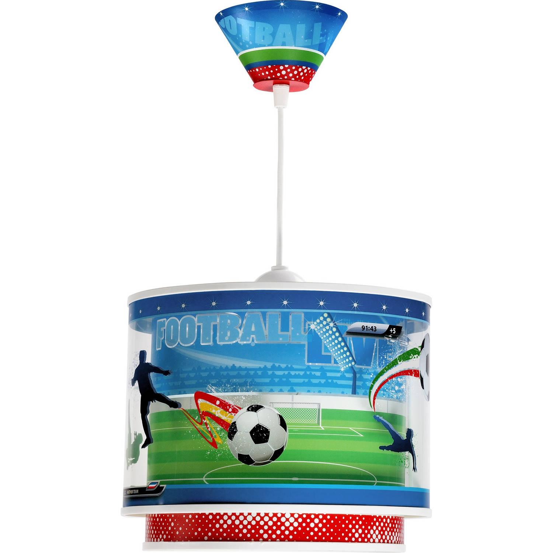 Dalber hanglamp Football 26,5 cm groen/blauw