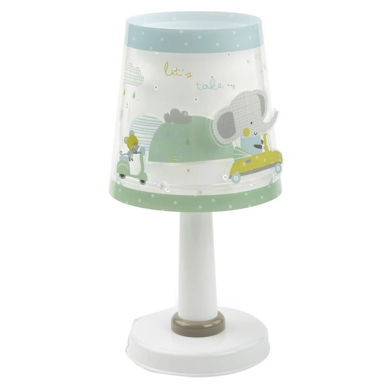 Dalber tafellamp A Little Trip 30 cm wit