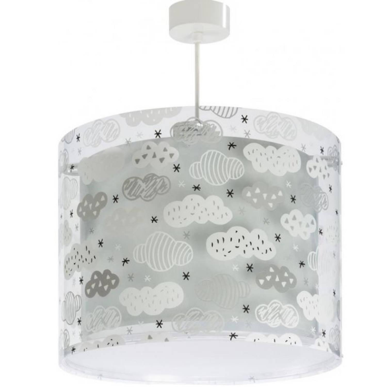 Dalber hanglamp Clouds 26 cm grijs