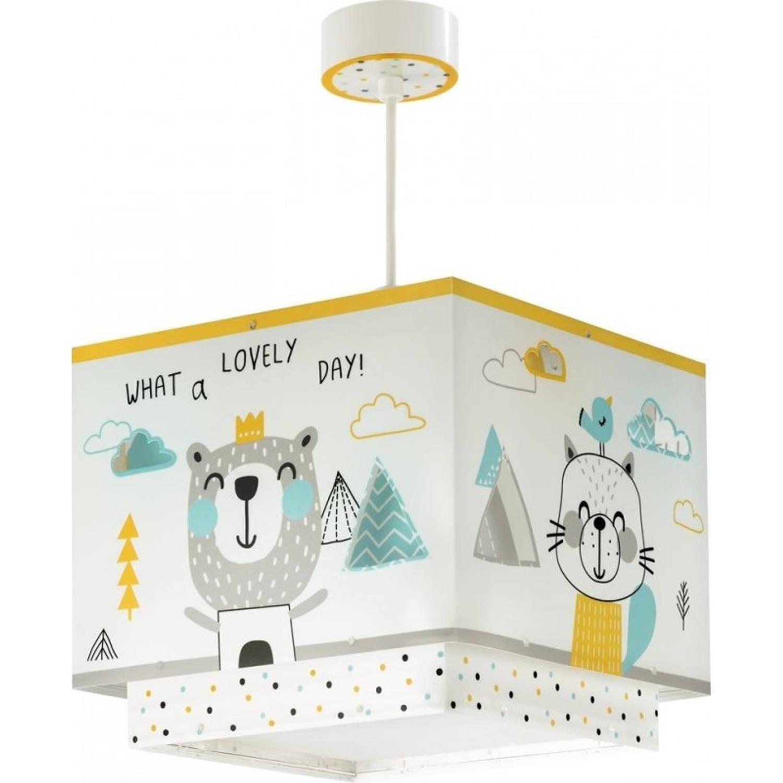 Dalber hanglamp Hello Little 26 cm wit