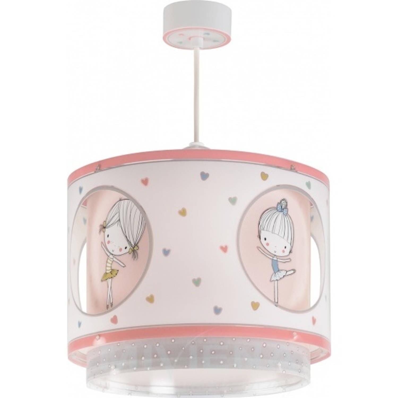 Dalber hanglamp Sweet Dance 26 cm roze