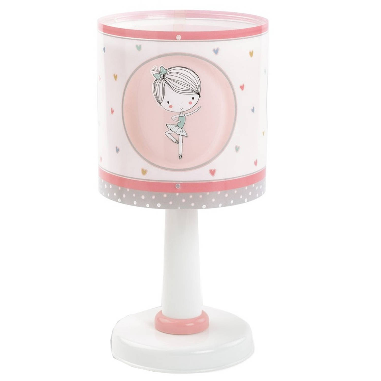 Dalber tafellamp Sweet Dance 30 cm roze