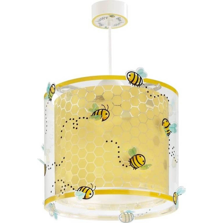 Dalber hanglamp Bee Happy 26 cm geel
