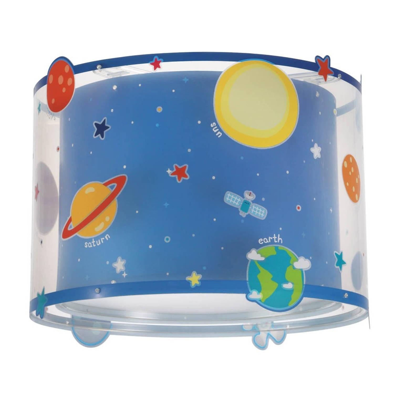 Dalber hanglamp Shade Planets 25 cm blauw
