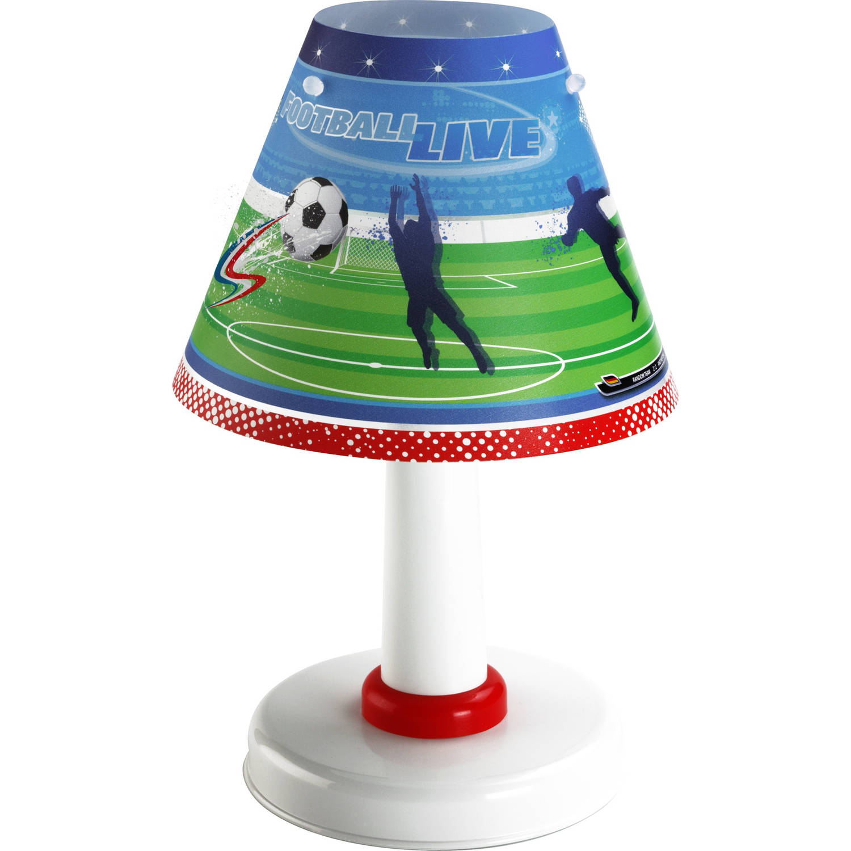 Dalber tafellamp Football 27 cm groen/blauw