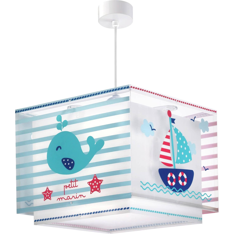 Dalber hanglamp Petit Marin 33 cm rood/blauw/wit
