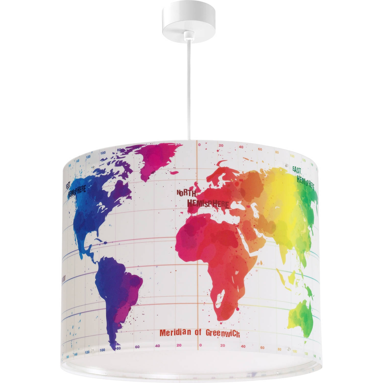 Dalber hanglamp Map 33 cm wit