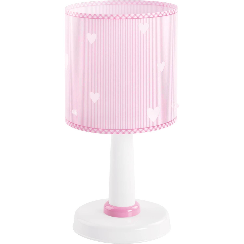 Dalber tafellamp Sweet Dreams 29 cm roze