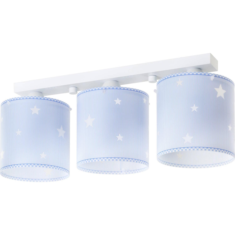 Dalber plafondlamp 3-lamps Sweet Dreams 51 cm blauw
