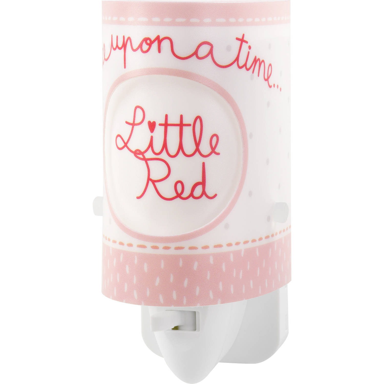 Dalber nachtlamp LIttle Red 13 cm roze