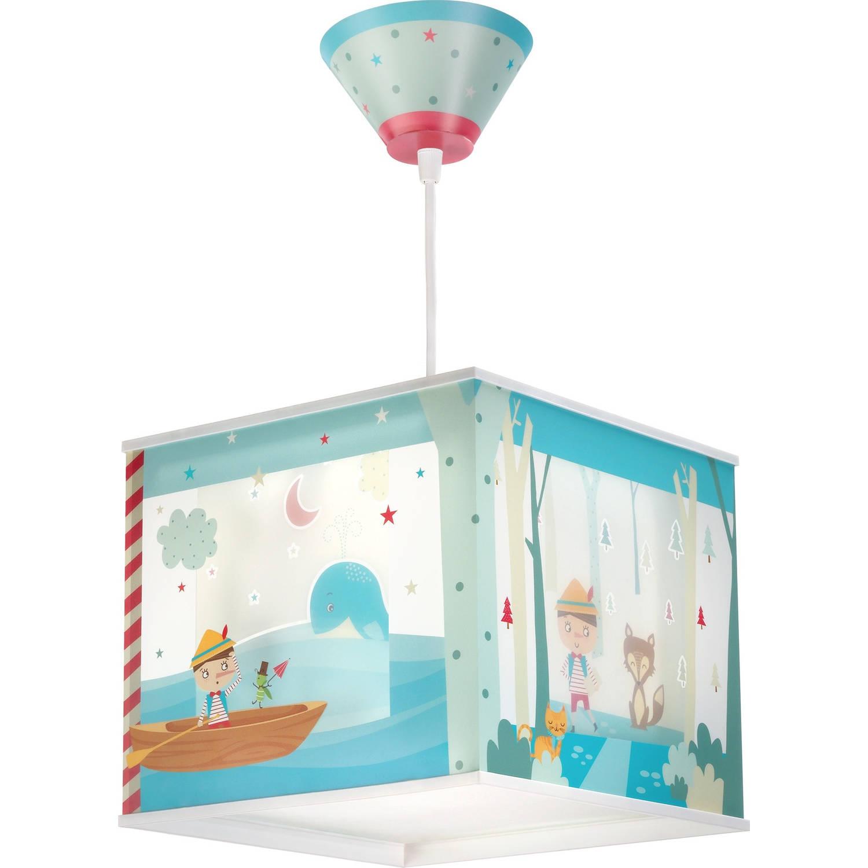 Dalber hanglamp Pinocchio 24 cm blauw