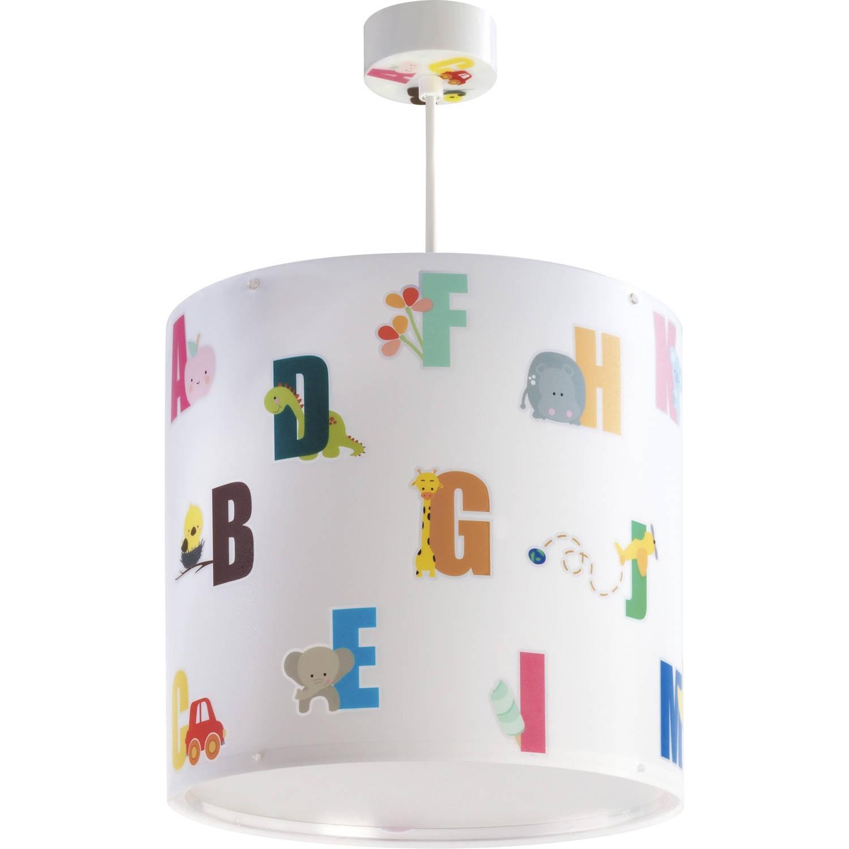 Dalber hanglamp ABC 26 cm wit