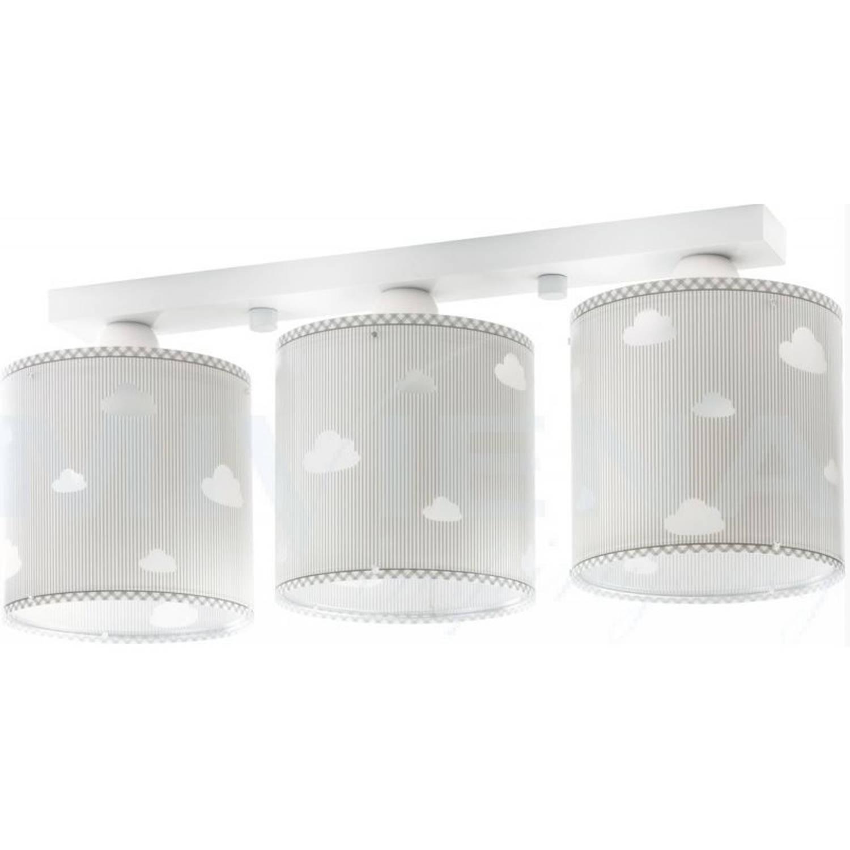 Dalber plafondlamp 3-lamps Sweet Dreams 51 cm grijs