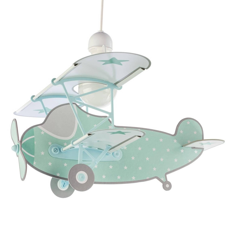 Dalber hanglamp Plane 50 cm groen