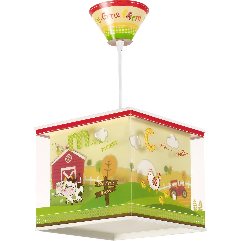 Dalber hanglamp My Little Farm 24 cm groen