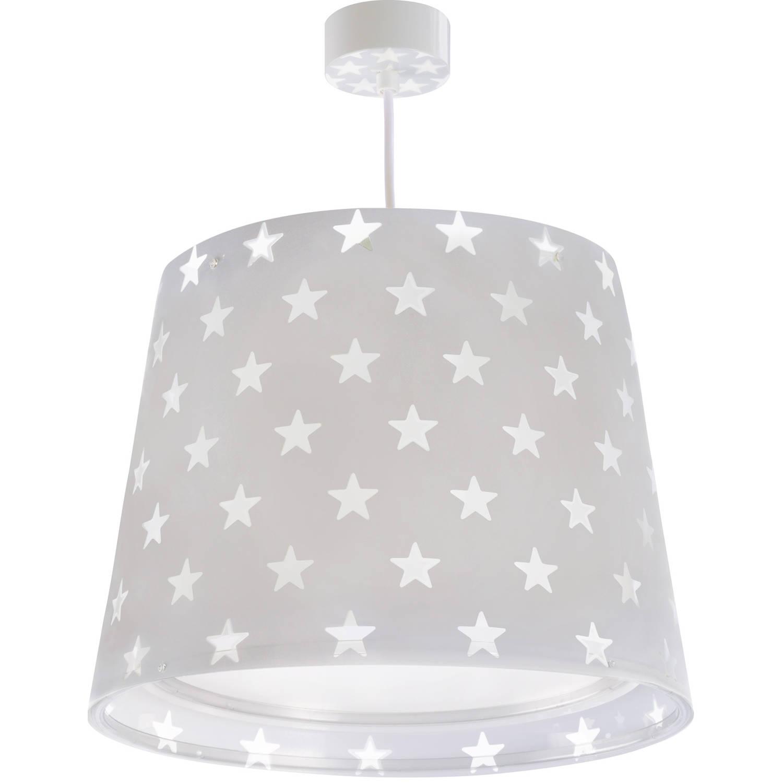 Dalber hanglamp Stars glow in the dark 33 cm grijs