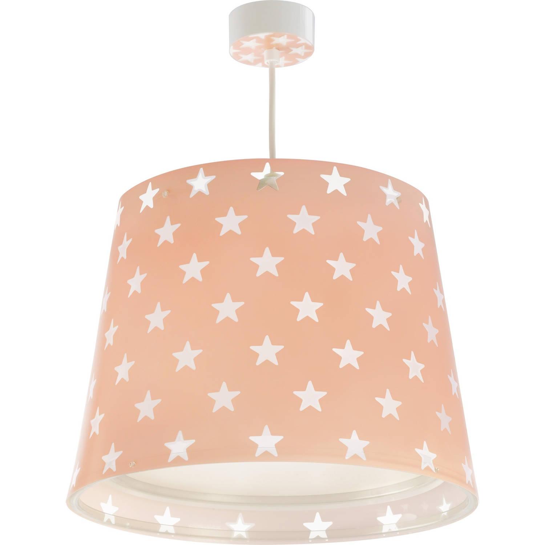Dalber hanglamp Stars glow in the dark 33 cm roze