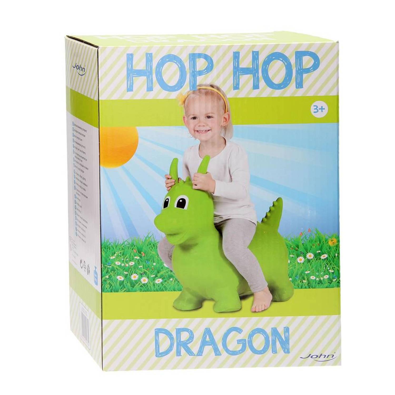 HopHop - Skippy Draakje Groen
