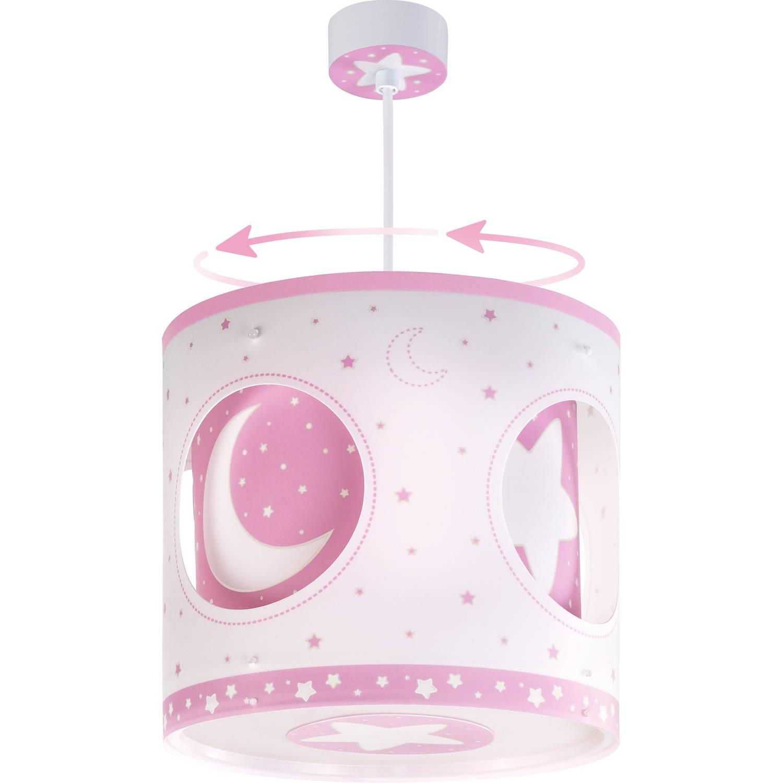 Dalber hanglamp draaiend Moonlight 26,5 cm roze