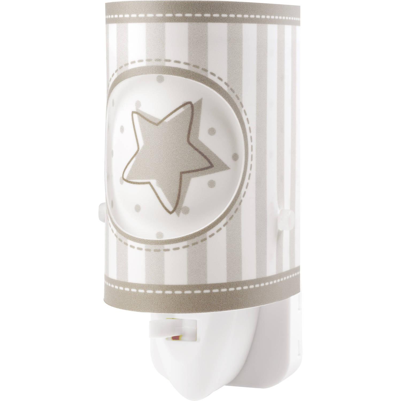 Dalber nachtlamp Sweet Light 13 cm donkerbruin