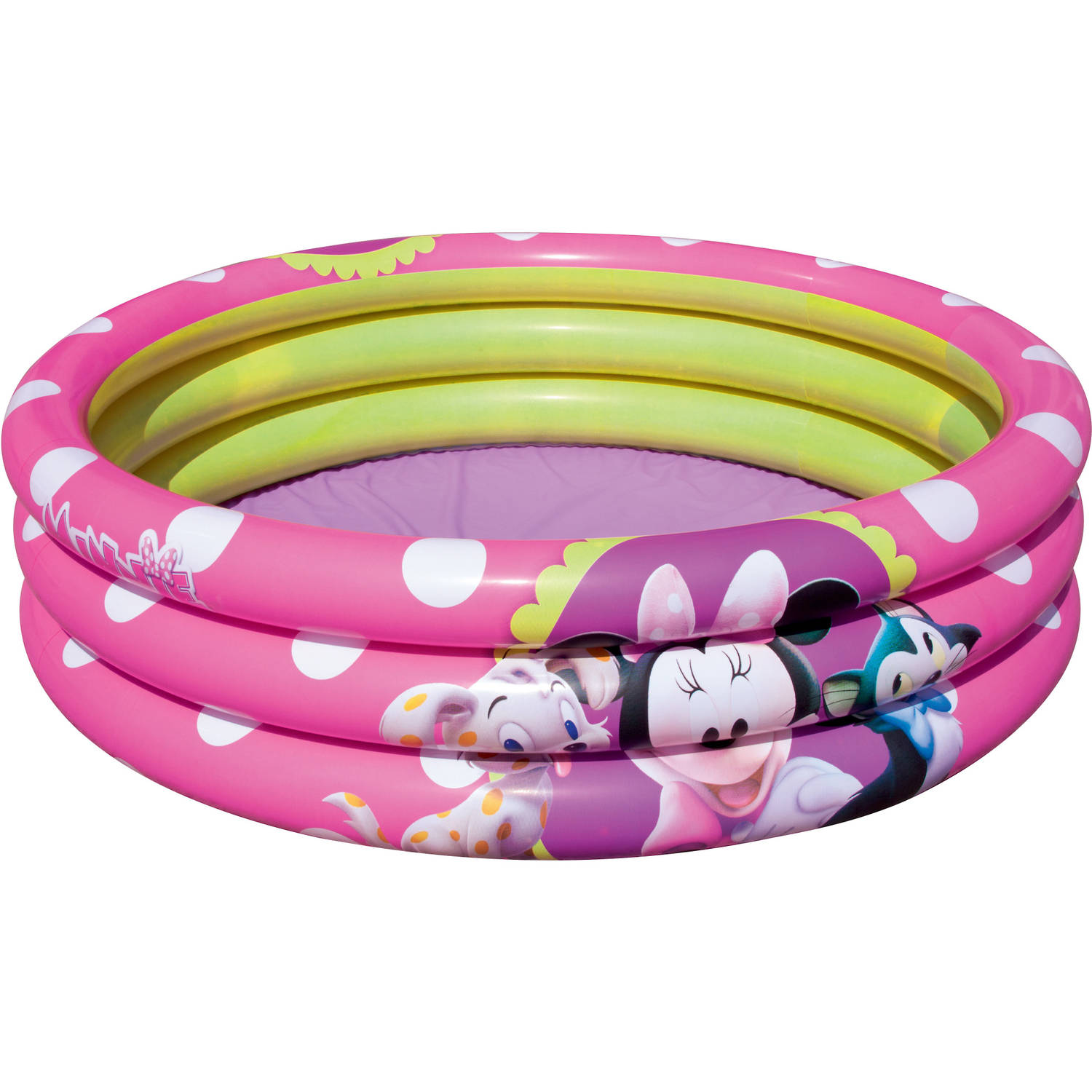 Minnie mouse 3 rings kinderzwembad blokker for Kinderzwembad blokker