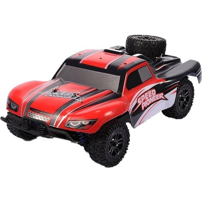 ThomaxX RC buggy 1:18. X-Desert Speed Pioneer 23 cm rood