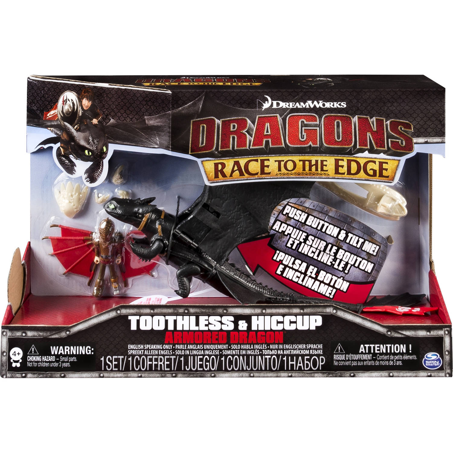 Dragons Race to the Edge - Toothless & Hiccup Armo