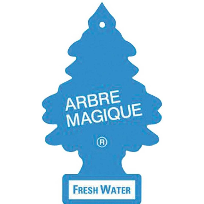 Afbeelding van Arbre Magique luchtverfrisser 12 x 7 cm Fresh Water blauw