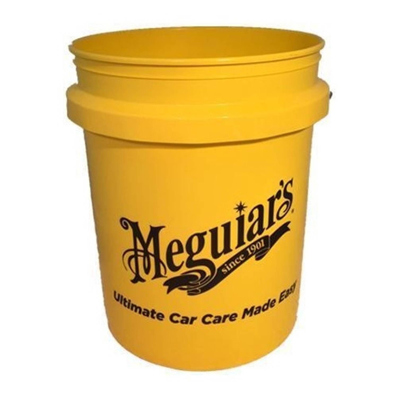 Meguiar's emmer 25 liter geel