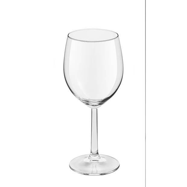 Blokker witte wijnglazen plus - 38cl - set van 4