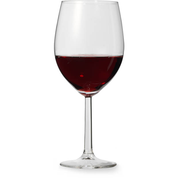 Blokker Plus rode wijnglazen - 50 cl - set van 4
