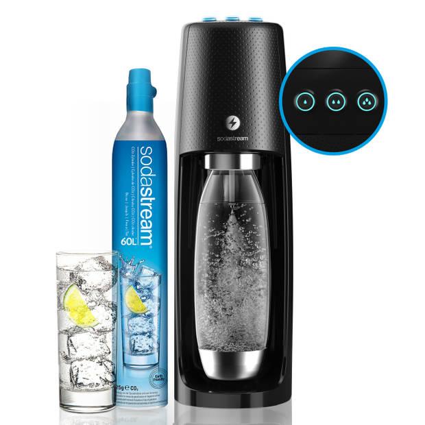 SodaStream Spirit One Touch elektrisch bruiswatertoestel - zwart