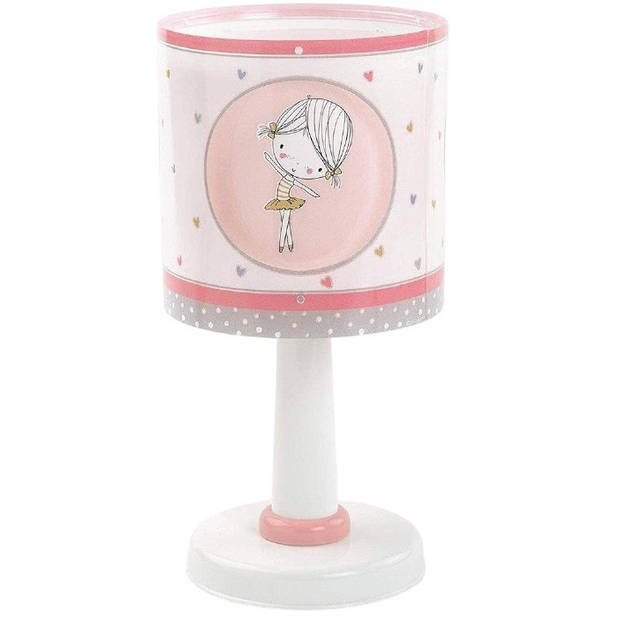 Starbright nachtlampje Ballerina junior 30 x 15 cm wit/roze