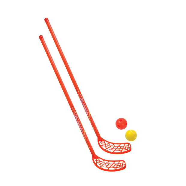 Donic Schildkröt hockeyset 4-delig 110 cm rood