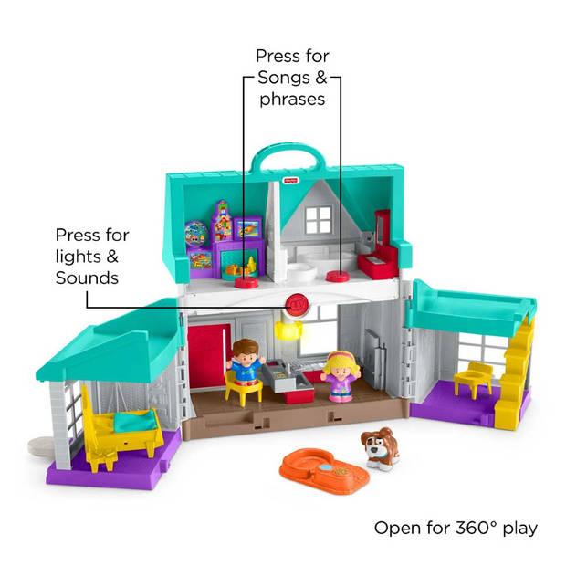 Fisher-Price Little People handige helpers huis