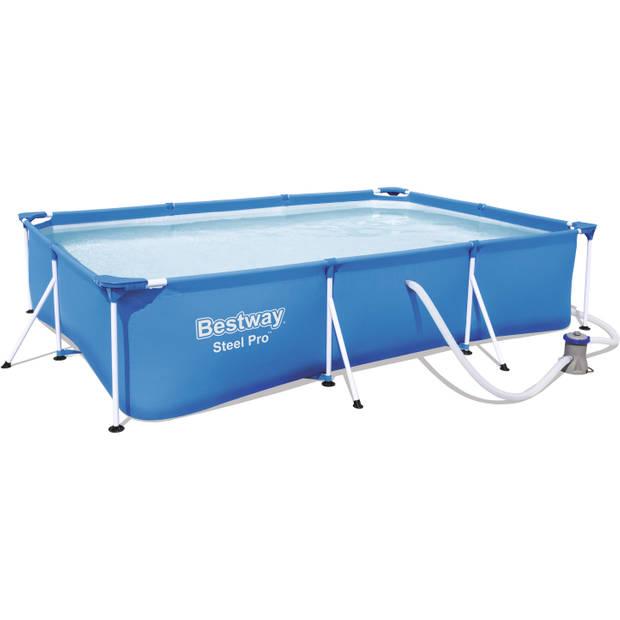Steel Pro frame zwembadset 56411 - rechthoekig
