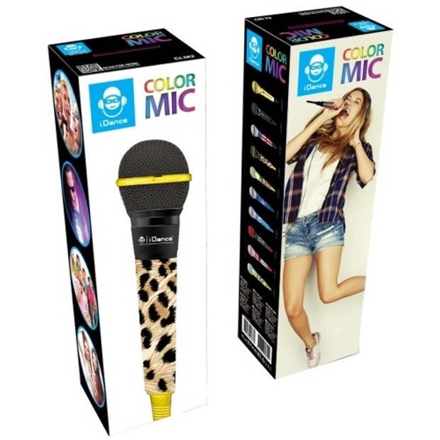iDance Color Microfoon CLM7 luipaard