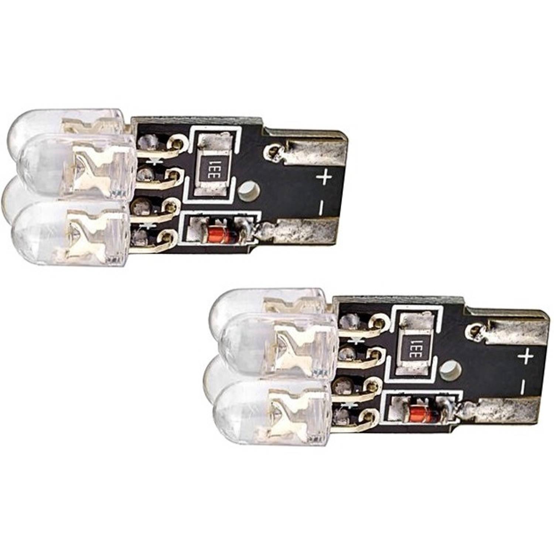 Evo Formance autolampen T10 led 12 V 1 W xenon look 2 stuks