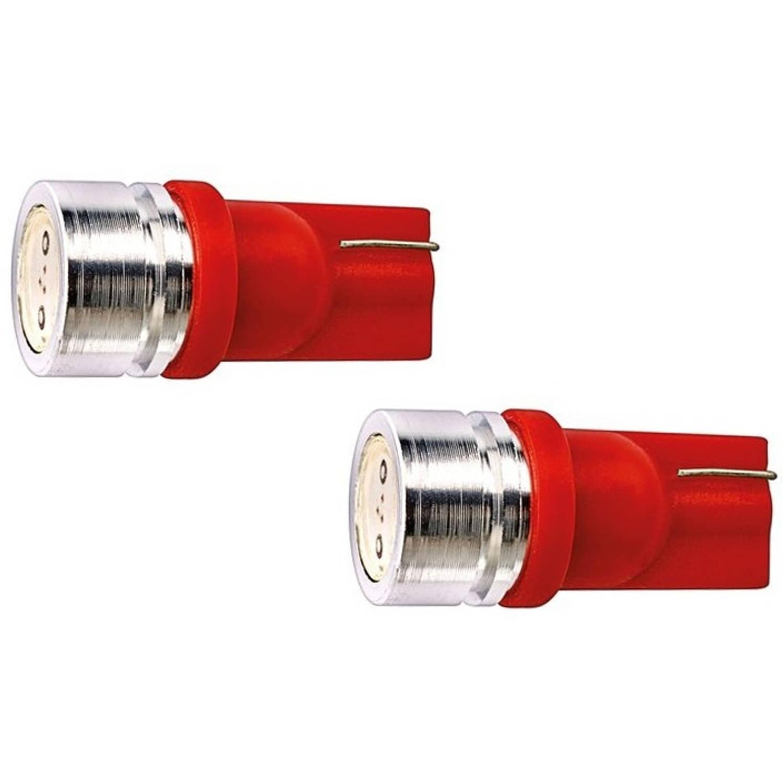 Evo Formance autolampen T10 SMD led 12 V 1 W rood 2 stuks
