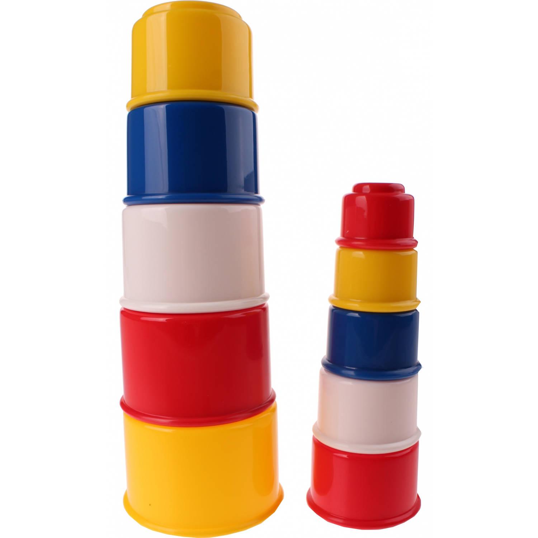 Afbeelding van Ambi Toys stapelbekers 10-delig