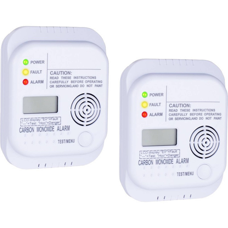 Carbon Monoxide detector RM370/2, 2 stuks
