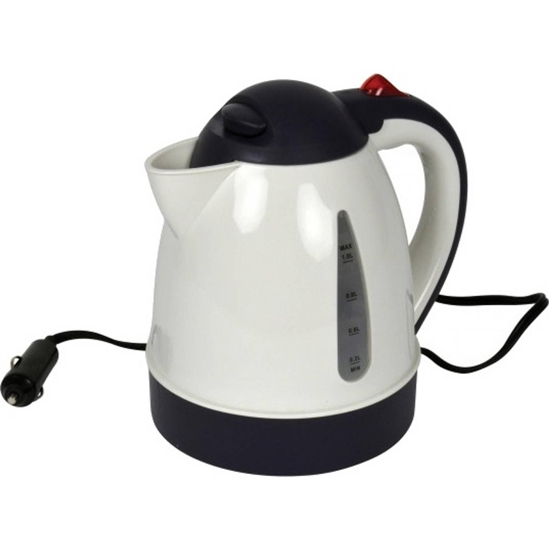 Carpoint waterkoker 12V 1 liter 17 cm wit