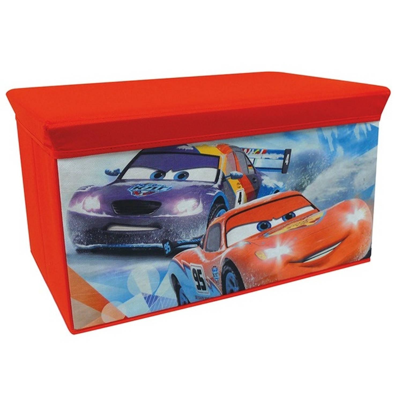 Disney Opbergbank Cars Rood 34 x 34,5 x 55,5 cm