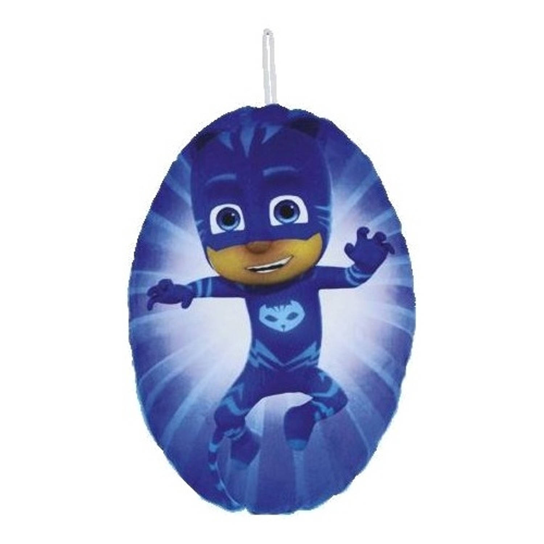 Disney kussen met opbergvak PJ Masks Catboy 37 cm blauw